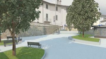 rendering piazza verdi san francesco