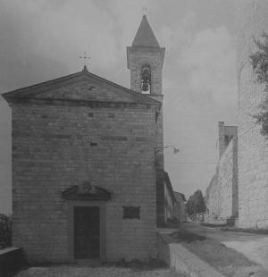 Facciata della Chiesa di Nipozzano