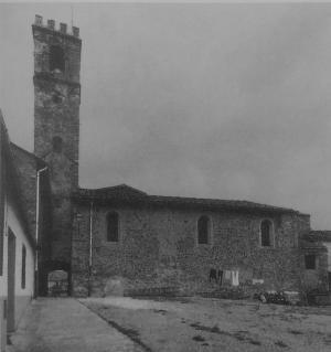 fianco sud della chiesa