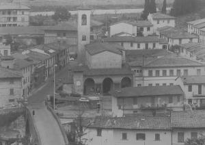 Veduta della Chiesa di San Francesco e dell'ex convento