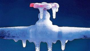 contatore ghiacciato